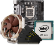 Intel 7th Gen CPU and mini-ITX Motherboard Bundle