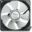 Gelid Silent 9, 92mm Quiet Case Fan