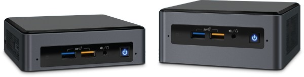 Intel NUC 8th Generation Next Unit of Computing kits