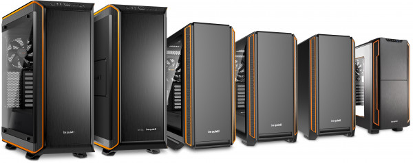 Serenity Pro Gamer i10, be quiet chassis, 900, 802, 601 and 600