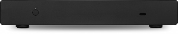 Black and silver versions of the Sidewinder without optical drive slot